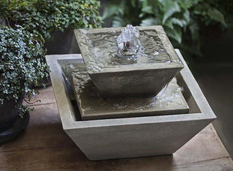 M-Series Kenzo Garden Water Fountain, Garden Outdoor Fountains - Outdoor Fountain Pros