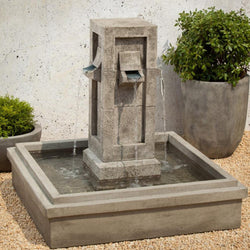 Pallisades Garden Water Fountain, Garden Outdoor Fountains - Outdoor Fountain Pros