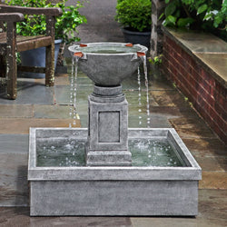 Rittenhouse Garden Water Fountain