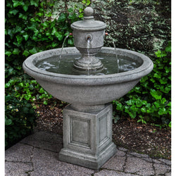 Rochefort Garden Water Fountain, Garden Outdoor Fountains - Outdoor Fountain Pros