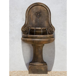 Valencia Wall Outdoor Water Fountain, Wall Outdoor Fountains - Outdoor Fountain Pros