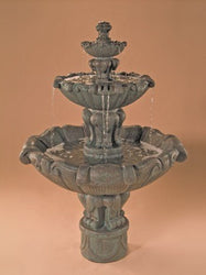 Vesuvio Tiered Outdoor Water Fountain, Tiered Outdoor Fountains - Outdoor Fountain Pros