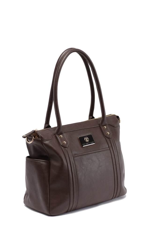 Tesla Baby Bag | Dark Brown