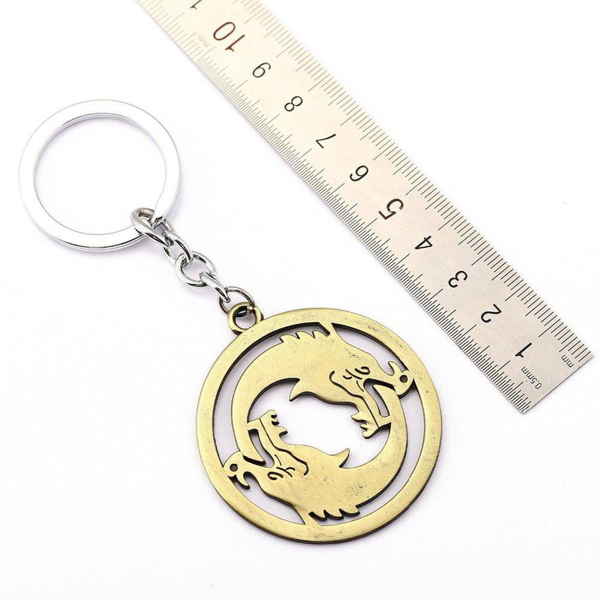 Overwatch Hanzo Dragons Keychain - The Dragon Shop - Geek Culture