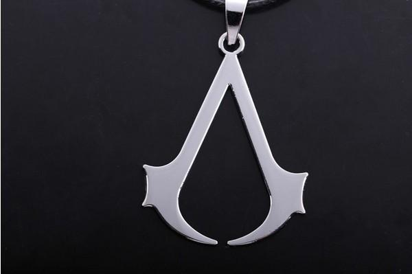Assassin's Creed Steel Necklace - The Dragon Shop - Geek Culture