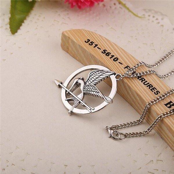 Hunger Games Mockingjay Necklace - The Dragon Shop - Geek Culture