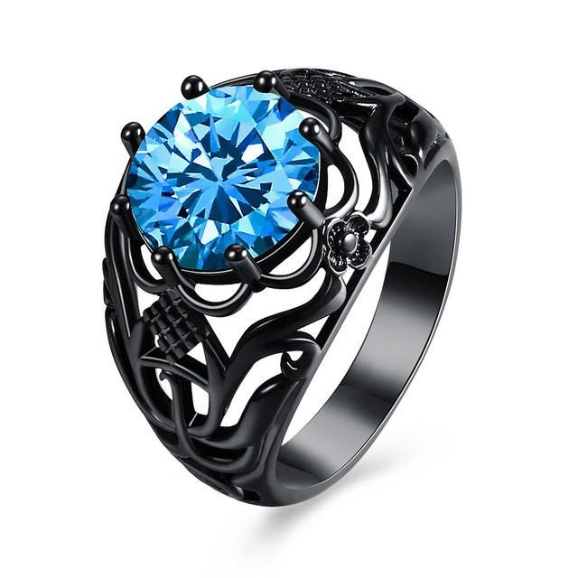 Dark Queen Gem Ring - The Dragon Shop - Geek Culture