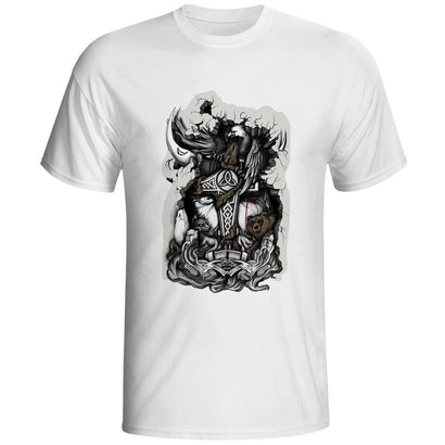 Thor Tribute Artistic T-Shirt - The Dragon Shop - Geek Culture