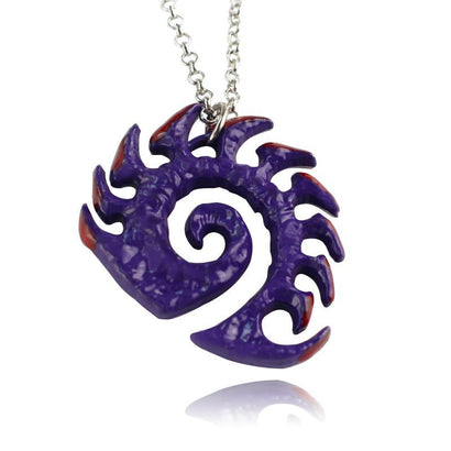 Starcraft Zerg Armor Necklace - The Dragon Shop - Geek Culture