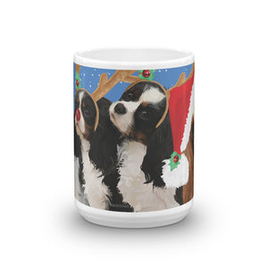 A Sasha, Gracie & Relatives Christmas - Mug made in the USA