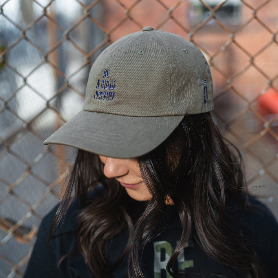 Army Green/Gun Metal Dad Hat