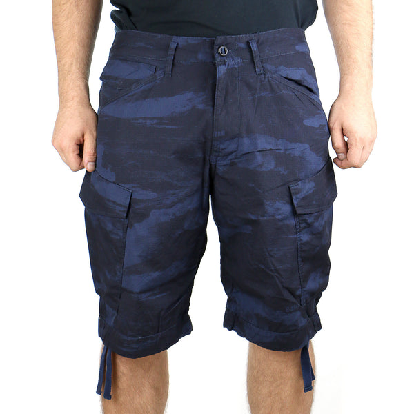 G-Star Rovic Loose Wave Bermuda CR Shorts - Mazarine Blue - Mens