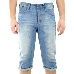 G-Star Type C 3/4 Pants Jean Shorts - Light Aged - Mens
