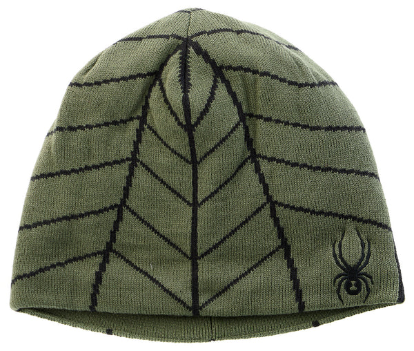 Spyder Web Hat  - Black/Volcano - Mens