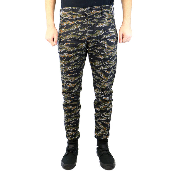 True Religion Runner Zip Fashion Track Pant - Printed Camo - Mens