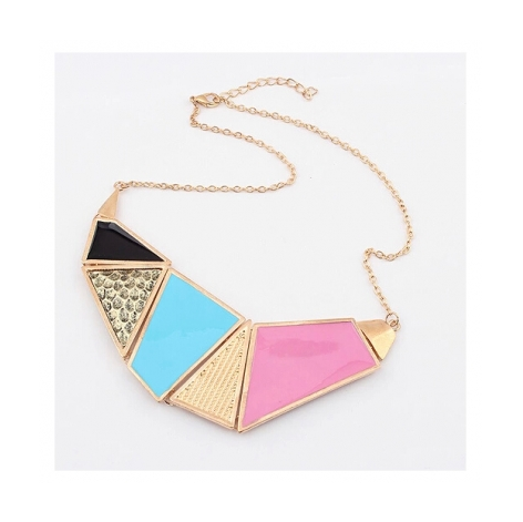 BOLD CANDY STATEMENT NECKLACE