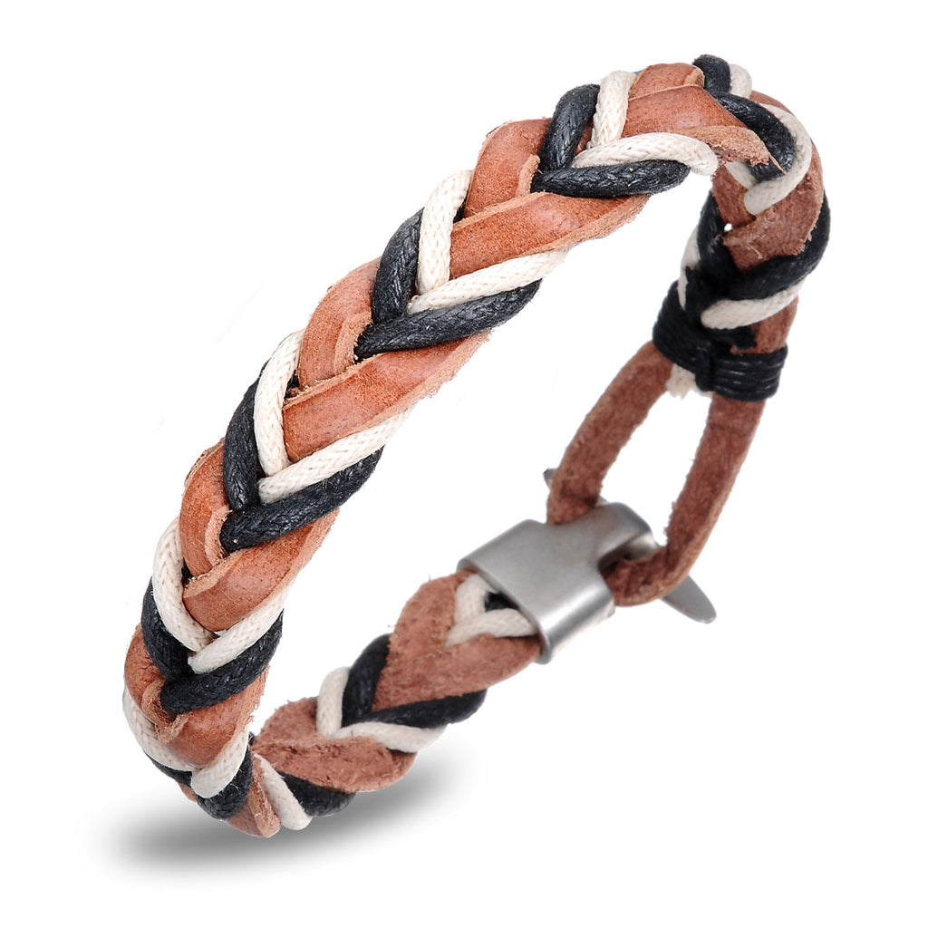 MEN'S GENUINE LEATHER COWBOY BRACELET