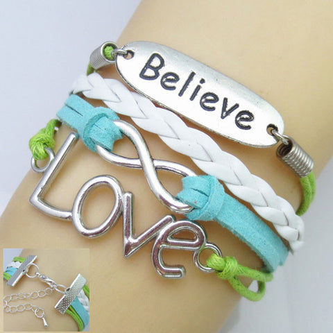 BELIEVE LOVE INFINITY