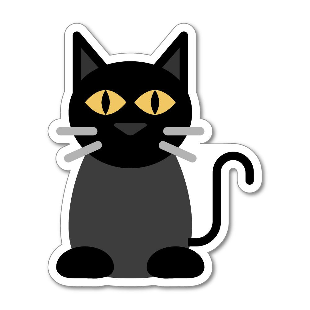 Dark Cat Sticker Decal