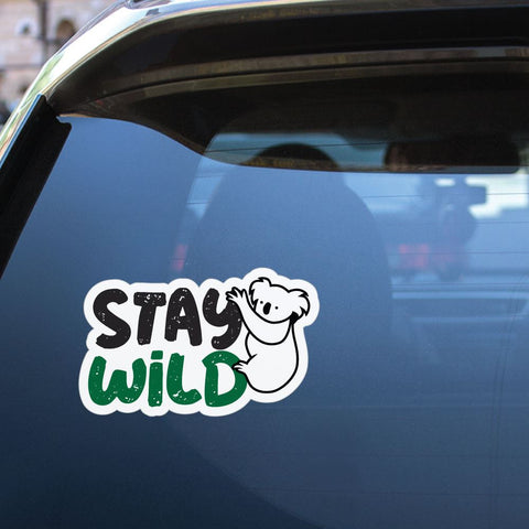 Stay Wild Koala Sticker Decal