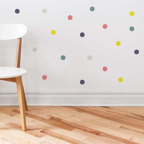 Party Circle Dots Wall Sticker