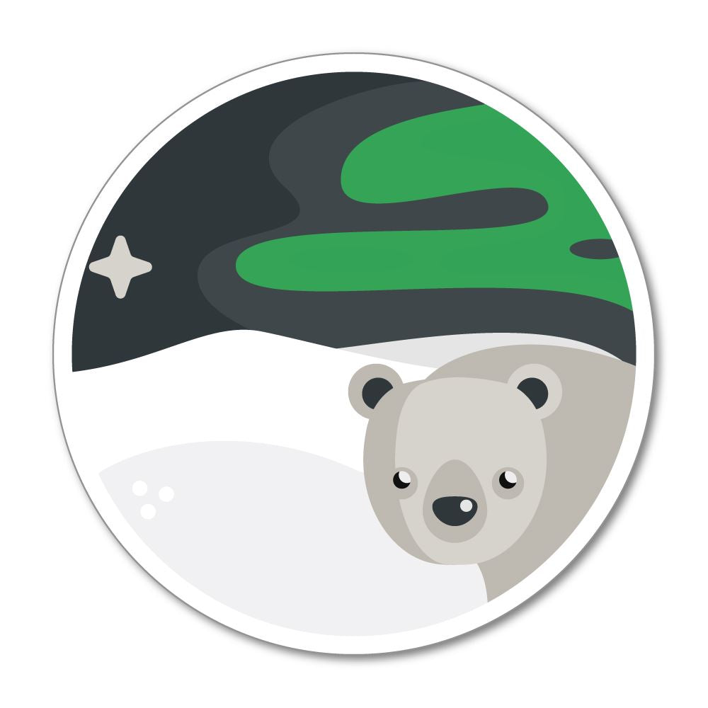 Ice Bear Sticker Decal