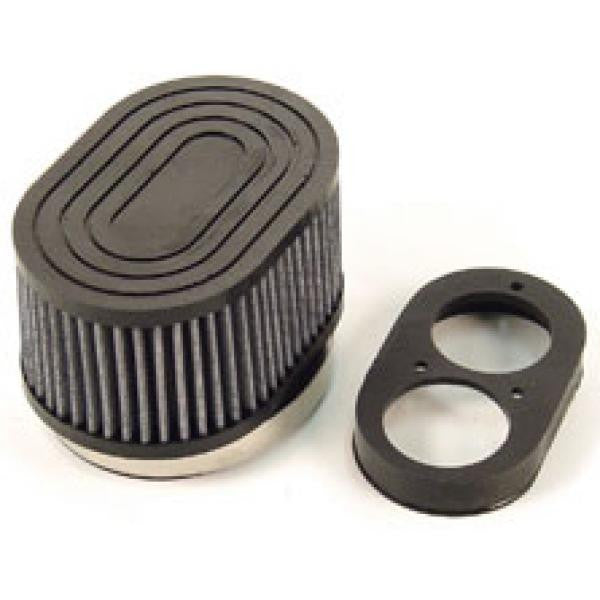 Pleated Air Filter Kit For RLV 2 Hole Air Box