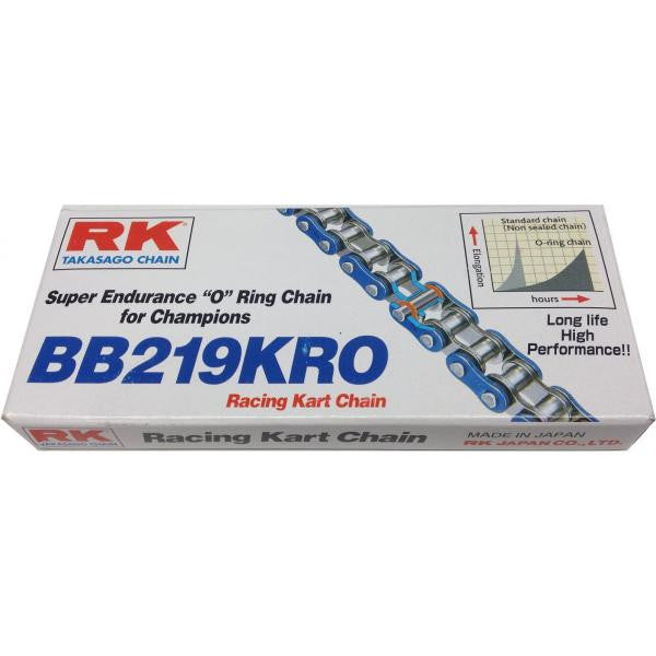 RK High Endurance 219 Blue O-Ring Chain - 102 Link