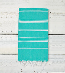 Sorbet Hammam Towel in Cucumber green