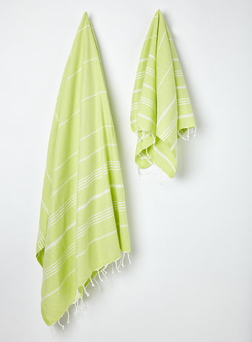 Lime Hammam Towel