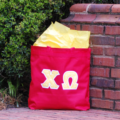 Red Traditional Letter Tote