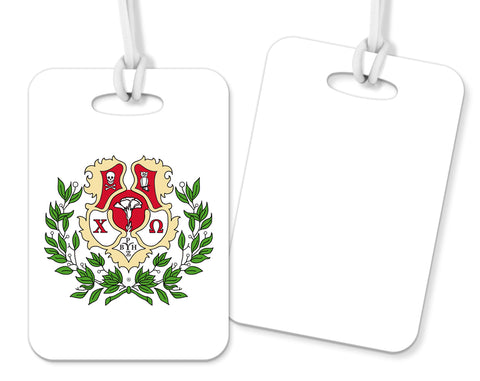 Crest Luggage Tag