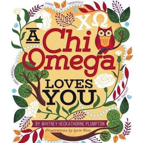 """A Chi Omega Loves You"" Children's Book"
