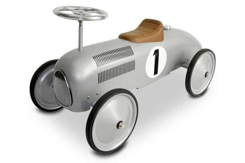 Silver Racer Scoot-A-Long Ride-On Toy