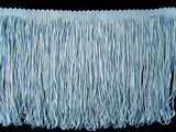 FT2042 145mm Pale Blue Dense Looped Dress Fringe - Ribbonmoon