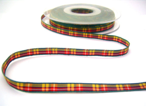 R8520 7mm Buchanan Tartan Ribbon by Berisfords