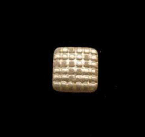 B15617 11mm Creamy Pearl Textured Shank Glass Button - Ribbonmoon