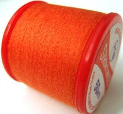 Strong Sewing Thread Orange 260 Multi Purpose,70% polyester, 30% cotton - Ribbonmoon