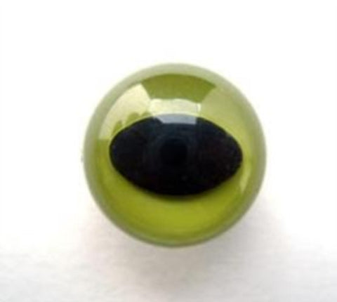TM41 18mm Green Eye for Teddy Bear, Toymaking Etc