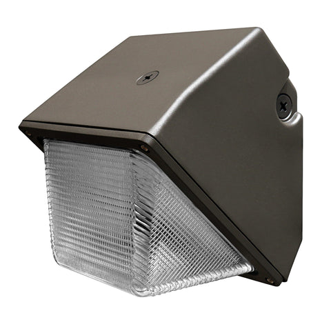 "8.5""w LED Bronze Commercial Wall Pack, 30W, 3,200 Lumens, 5000K, 50,000 Hours"
