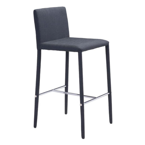 Confidence Counter Chair Black Set of 2