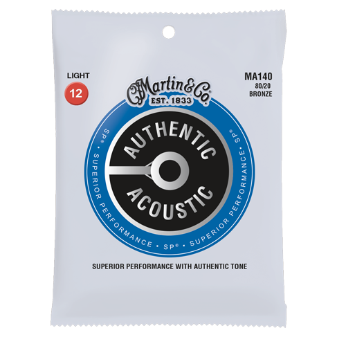 Martin Authentic Acoustic 80/20 Bronze Acoustic Guitar Strings - Jakes Main Street Music