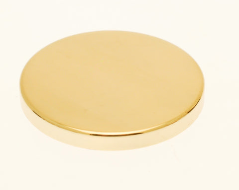 Gold Candle Jar Lid