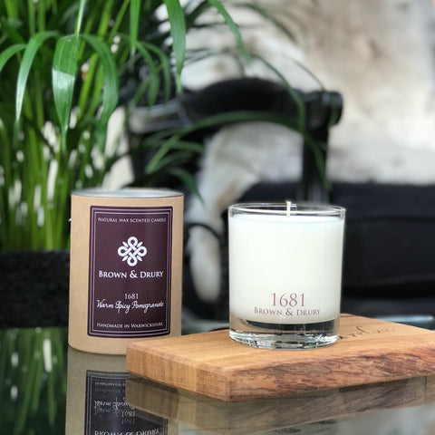 1681 Pomegranate Candle