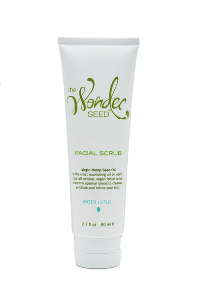 Hemp Facial Scrub - Water Lotus