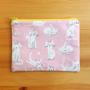 Life of Cat Zip Pouch