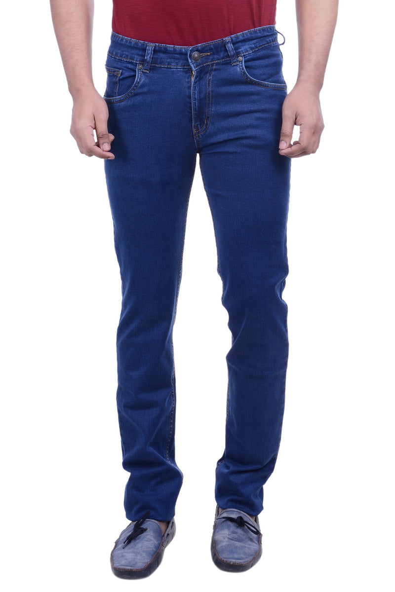 Hoffmen Men's Slim Fit  Silky Stretch Denimax Colour Jeans BSG4901