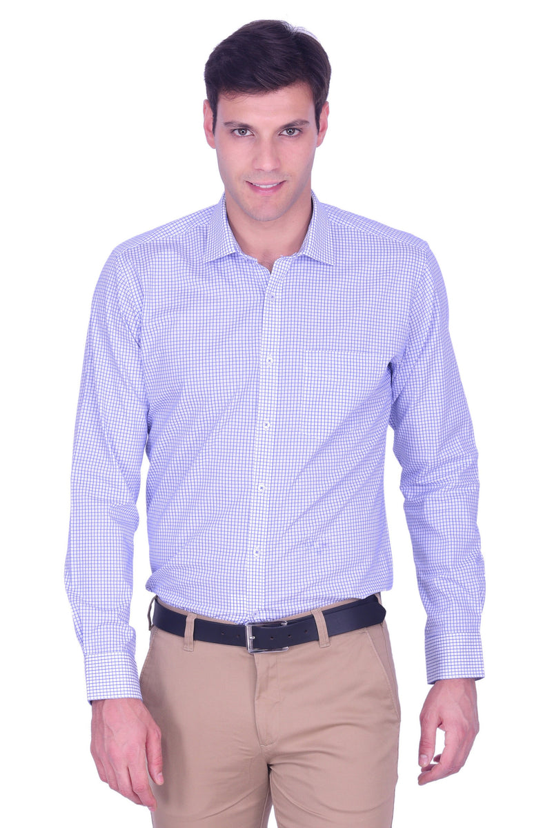 Hoffmen Men's Checkered Formal Shirt HS5156
