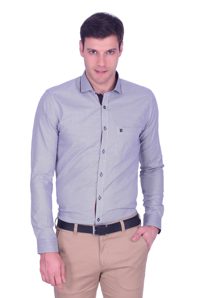 Hoffmen Men's Party Shirt PD3088