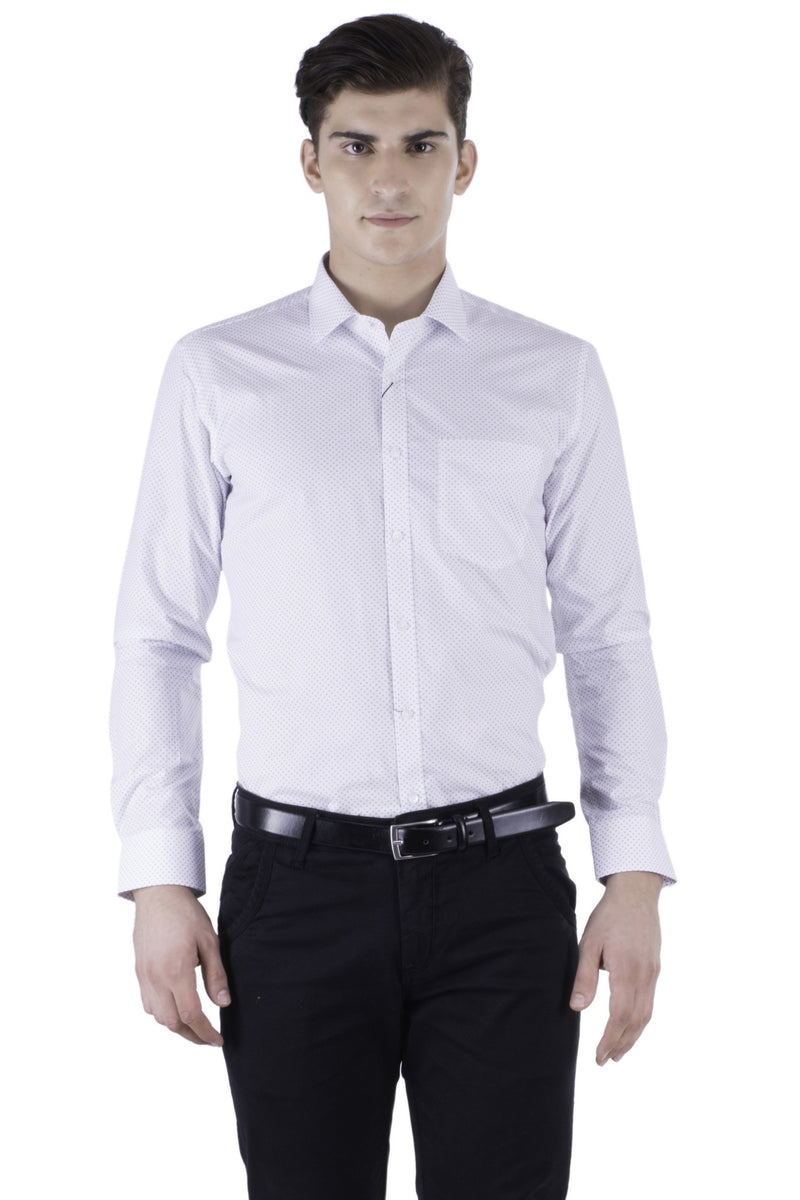 Hoffmen Men's Printed Formal Shirt HR6064